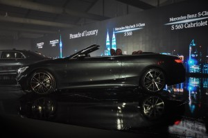 Mercedes-Benz S560 Cabriolet, Malaysia Launch 2018
