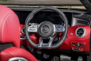 MercedesBenz_S560_Cabriolet_15 - AMG Steering Wheel, Malaysia 2018