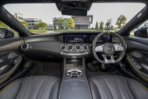 Mercedes-AMG_S63_Coupe_17 - Dashboard, Malaysia 2018