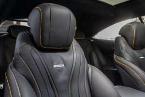 Mercedes-AMG_S63_Coupe_24 - Front Seat Headrest, Malaysia 2018