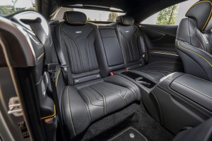 Mercedes-AMG_S63_Coupe_25 - Rear Seats, Malaysia 2018