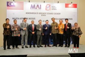 Malaysia Automotive Institute, Institut Otomotif Indonesia, MAI-IOI Memorandum of Agreement Exchange 6 - 2018