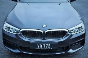 BMW 530i M Sport, Front Shot, Malaysia