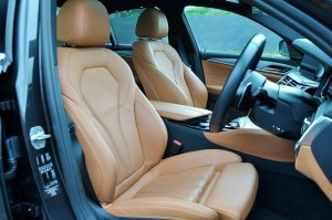 BMW 530i M Sport, Front Seats, Malaysia