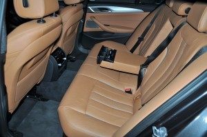 BMW 530i M Sport, Rear Seats, Malaysia