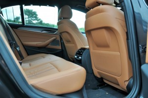 BMW 530i M Sport, Rear Seats, Front Seat Backrest, Malaysia