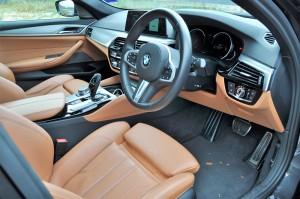 BMW 530i M Sport, Cabin, Cockpit, Malaysia
