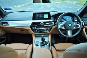 BMW 530i M Sport, Dashboard, Malaysia
