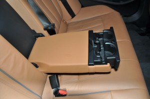 BMW 530i M Sport, Rear Seat Arm Rest, Cup Holders, Malaysia