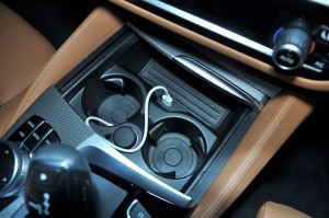 BMW 530i M Sport, Front Cup Holders, Malaysia
