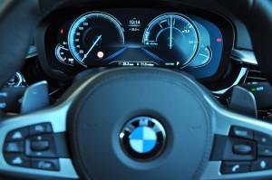 BMW 530i M Sport, Digital Cluster Display, Malaysia