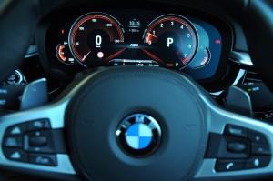 BMW 530i M Sport, Digital Cluster Display, Sport Mode, Malaysia