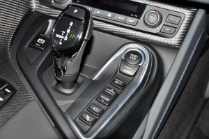 BMW i8 Coupe, Centre Console, Gear Selector Lever, Malaysia Launch 2018