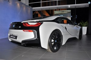 BMW i8 Coupe, Crystal White, Rear View, Malaysia Launch 2018