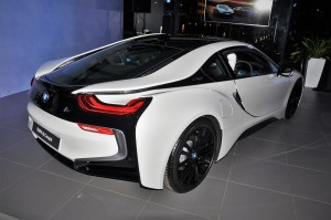 BMW i8 Coupe, Rear, Crystal White, Malaysia Launch 2018