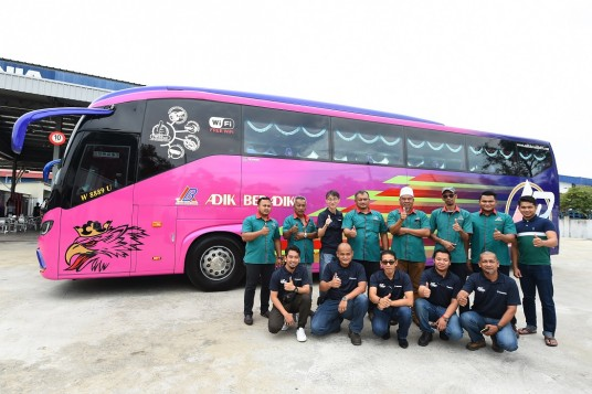 Scania Malaysia Delivers 18 Buses To Express & Tour Bus Operator In Kuala Terengganu