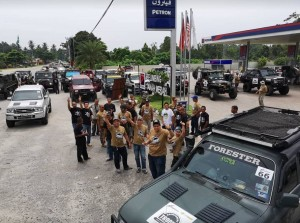 Petron Turbo Diesel Euro 5, Petron Station, Rainforest Trophy Malaysia 2018
