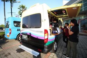 Maxus V80 Commercial Van, Food Truck, Weststar Maxus Malaysia 2018