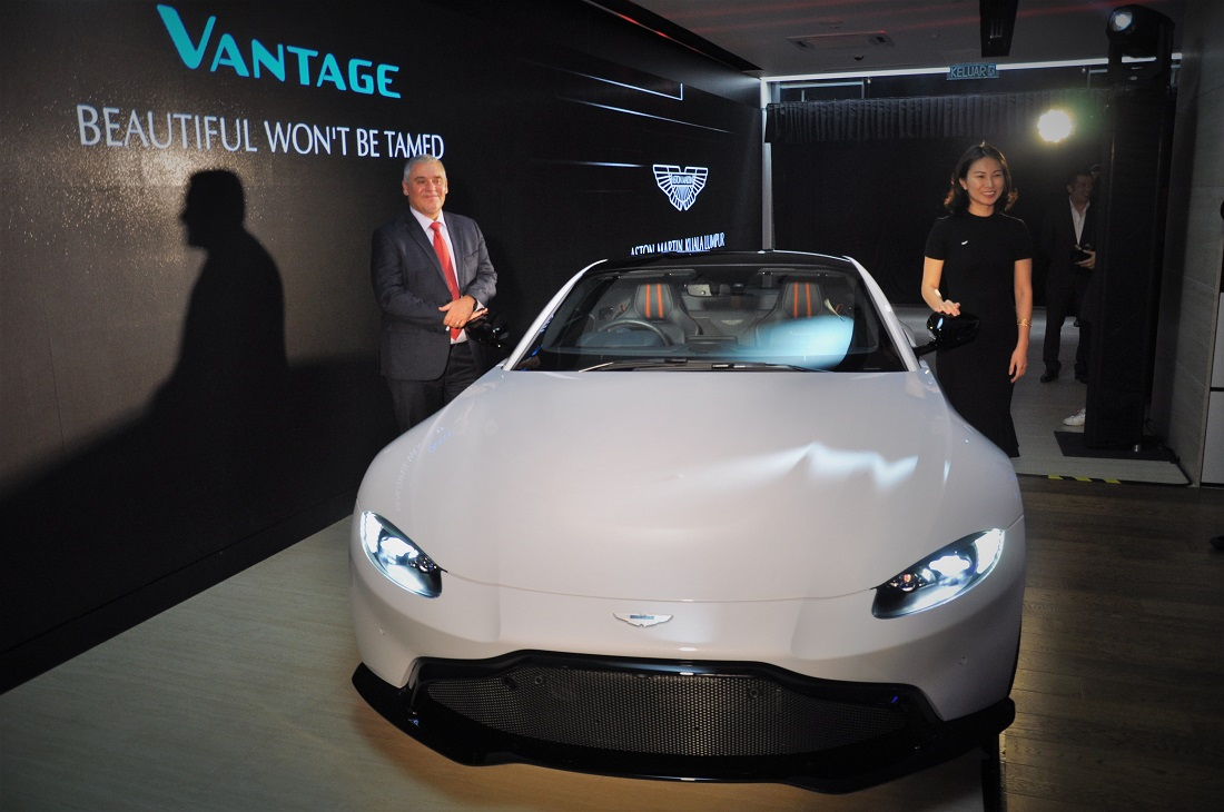 New Aston Martin Vantage Launched In Malaysia 510 Ps 685 Nm From Twin Turbo V8 Engine Autoworld Com My