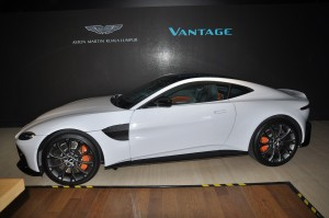 Aston Martin Vantage, Side View, Malaysia Launch 2018