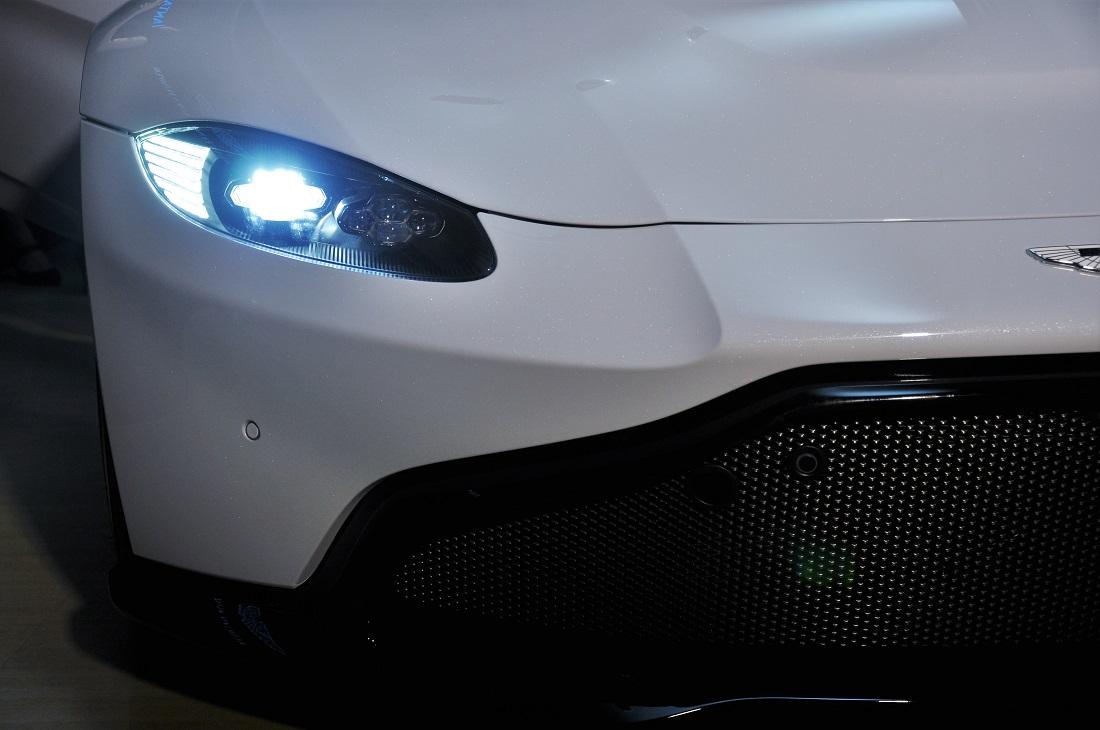 Aston Martin Vantage Headlight Aston Martin Kuala Lumpur Launch Autoworld Com My