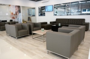 Proton 3S Centre, Regal Motors Holdings, Section 13 Petaling Jaya, Customer lounge area - Malaysia