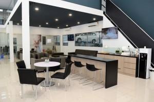 Proton 3S Centre, Regal Motors, Jalan Bersatu, Petaling Jaya, coffee area - Malaysia