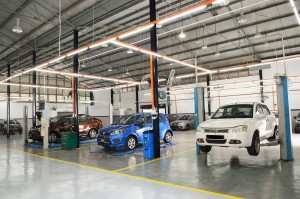 Proton 3S Outlet, Regal Motors, Petaling Jaya, car service area - Malaysia