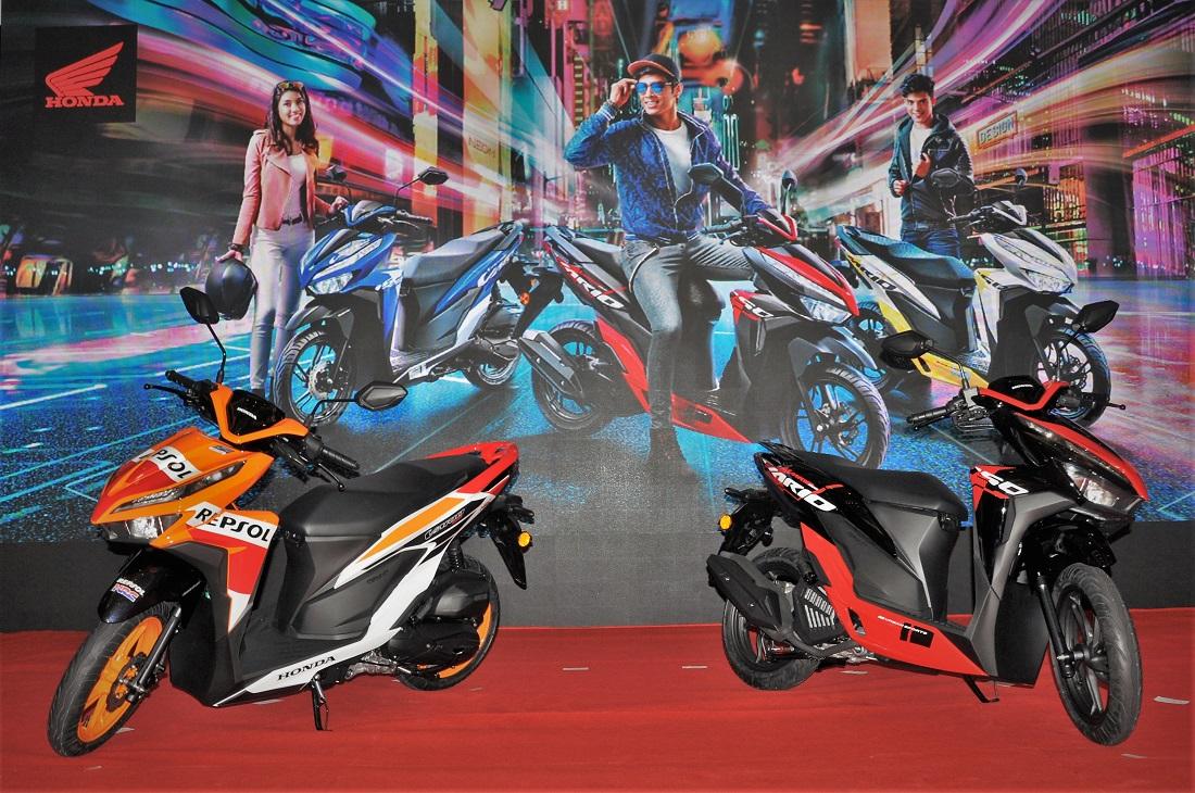 Boon Siew Honda, Honda Vario 150 Launch, Repsol, Pearl Magellanic Black, Malaysia