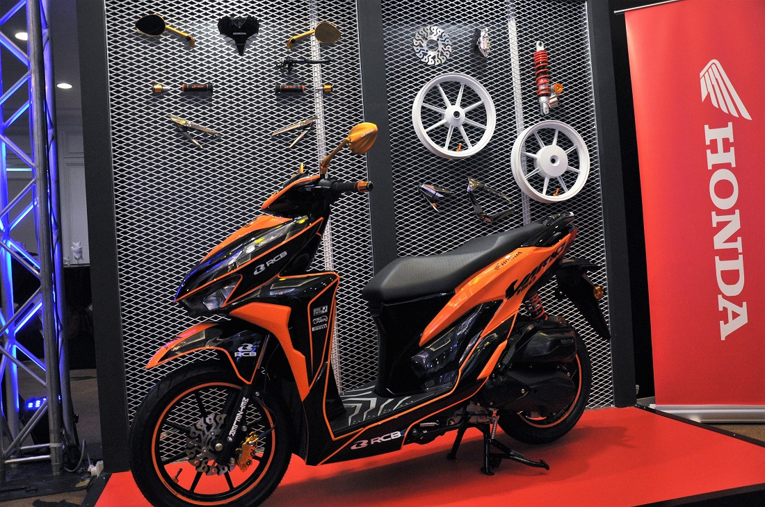 Boon Siew Honda, Honda Vario 150, RCB Racing Boy, Accessories, Malaysia