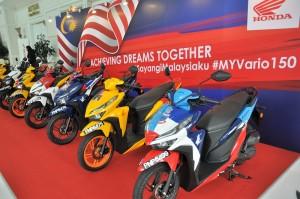 Boon Siew Honda, Honda Vario 150, Merdeka, Malaysia State Colours