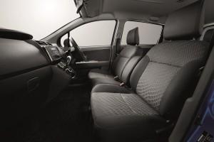 Perodua_Alza SE_2018_Front Seat Fabric Design - Malaysia