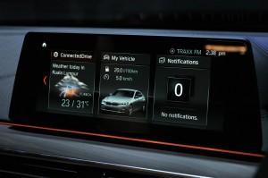 BMW 6 Series Gran Turismo, Display, Malaysia