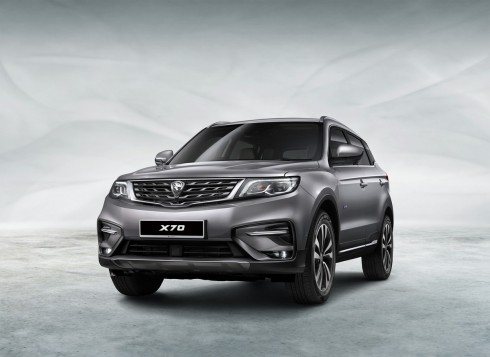 Online Booking For Proton X70 SUV Now Open; Four Variants Available