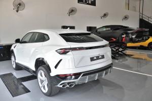 Lamborghini Kuala Lumpur, Service Bays, Hoists, Malaysia, Urus