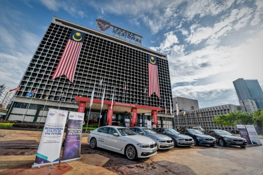 BMW Malaysia Hands Over Fleet Of BMW 530e Hybrid To Tenaga Nasional For CEPSI 2018