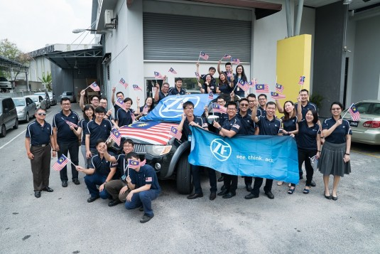 ZF Sales & Service Malaysia Celebrates Malaysia Day With Customer Promotions And Staff Activities