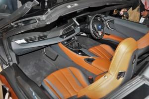 BMW i8 Roadster, Cabin, Malaysia 2018