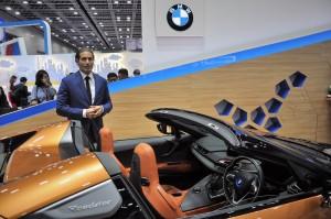 BMW i8 Roadster, CEPSI 2018, Dr Alexander Kotouc, BMW i