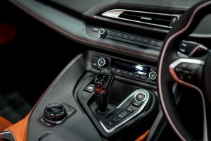 The First-Ever BMW i8 Roadster  (8) Centre Console - CEPSI 2018 Malaysia