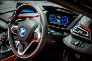 The First-Ever BMW i8 Roadster  (10) Instrument Display - CEPSI 2018 Malaysia