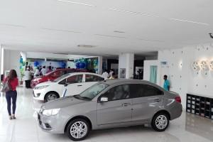 Proton 4S outlet showroom area_Mercu Usaha - Sungai Petani, Kedah