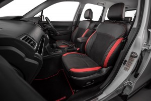 Subaru Forester STI Performance_Front Passenger Leather Seat_Malaysia
