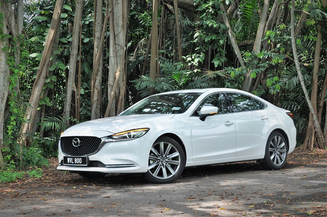 Test Drive Review Mazda 6 2 2l Sel