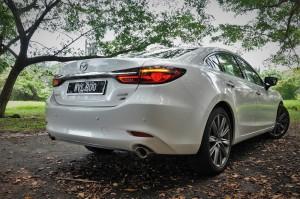 Mazda 6 2.2L Diesel, Rear View, Malaysia 2018