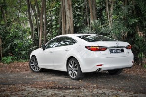 Mazda 6_2.2L SkyActiv-D_2018_Rear View_Malaysia