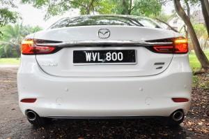 Mazda 6_2.2L Diesel_Rear_2018_Malaysia