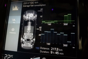Volvo S90 T8 Twin Engine_Fuel Consumption Info_Malaysia