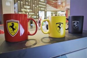 Ferrari Pop-Up Experience, Lounge, Merchandise, Mugs, Pavilion KL, Malaysia, Naza Italia