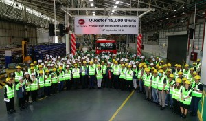UD Quester Milestone_01_UD Trucks_Bangkok Thailand_15000 Units